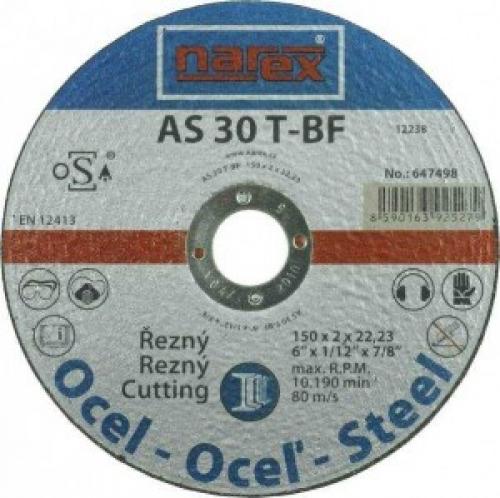 Výrobek Řezný kotouč na ocel rovný Narex 150 00647498